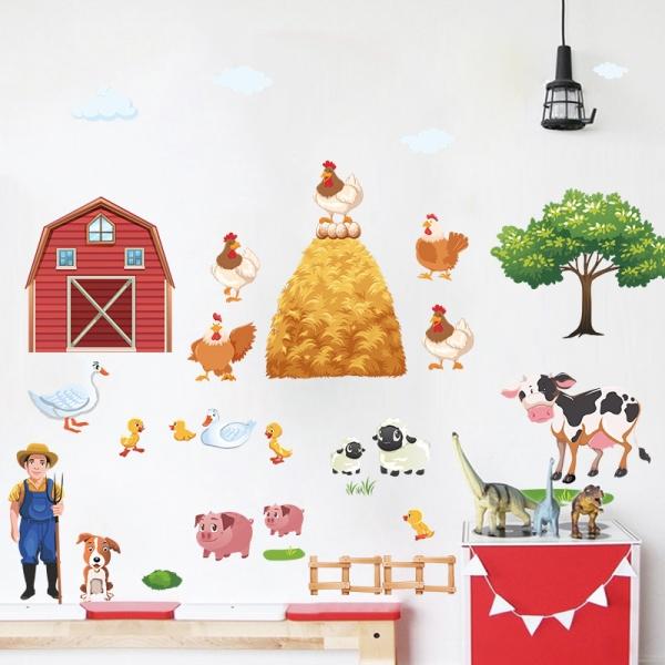Sticker pentru copii - Animale la ferma 2