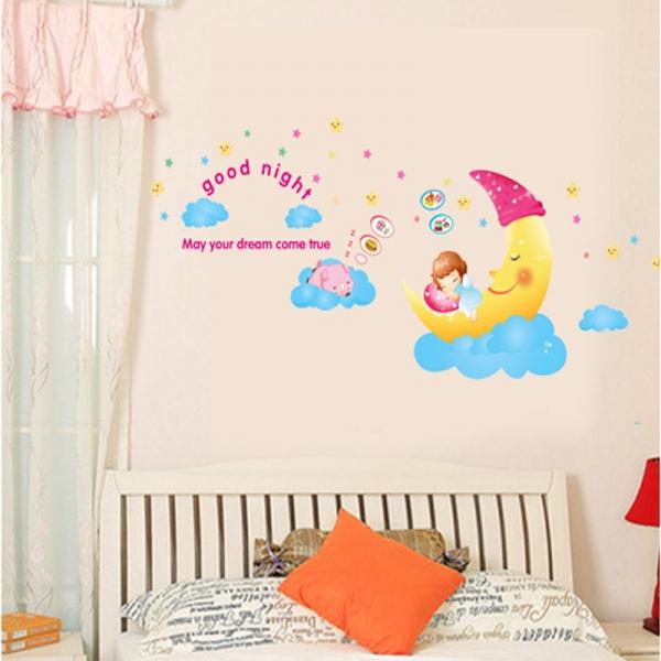 Sticker decorativ copii - Somn usor! 3