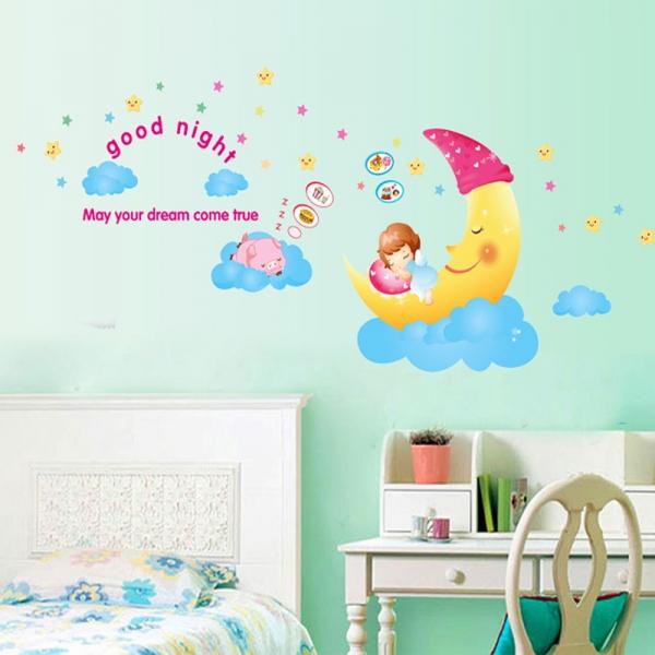 Sticker decorativ copii - Somn usor! 2