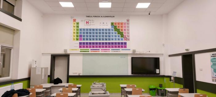Autocolant Tabelul Periodic al Elementelor [1]