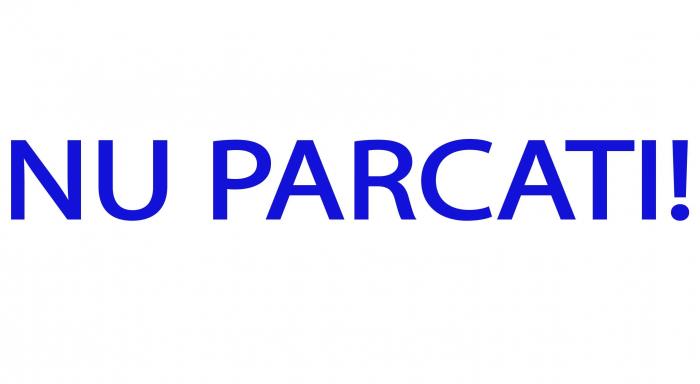 Sticker Indicator Nu Parcati - 100x15 cm [0]