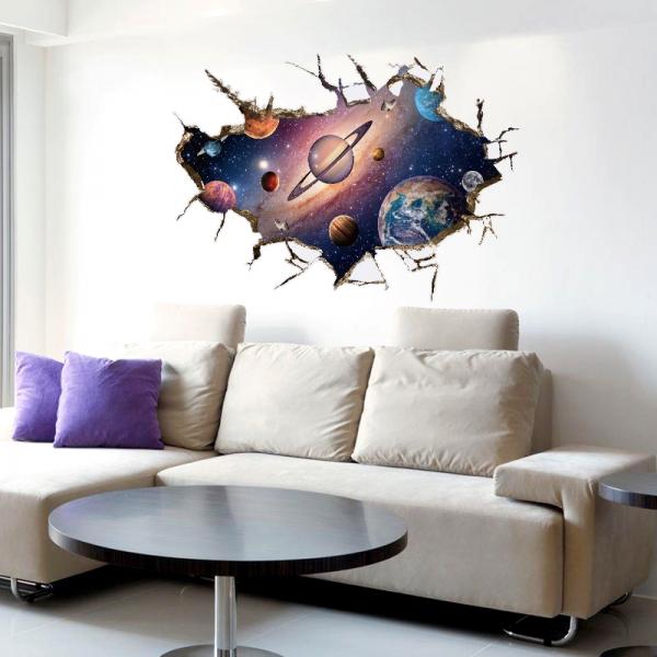 Sticker pentru copii 3D - Planete [3]