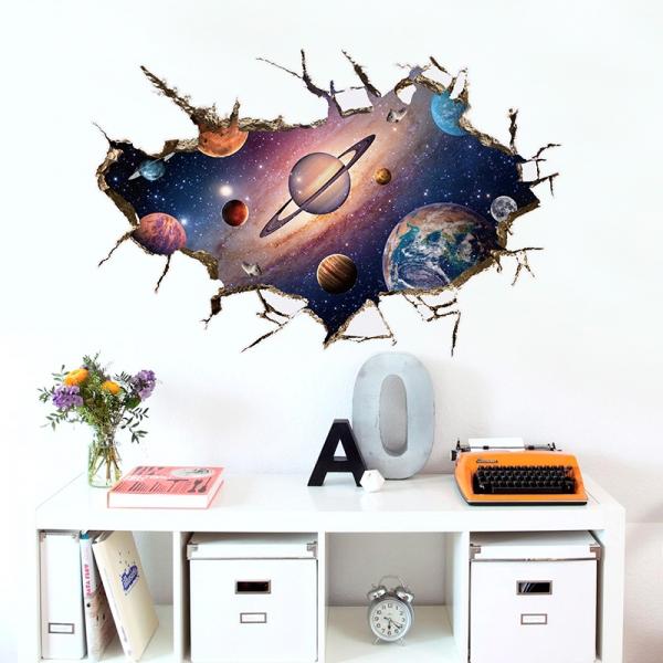 Sticker pentru copii 3D - Planete [0]