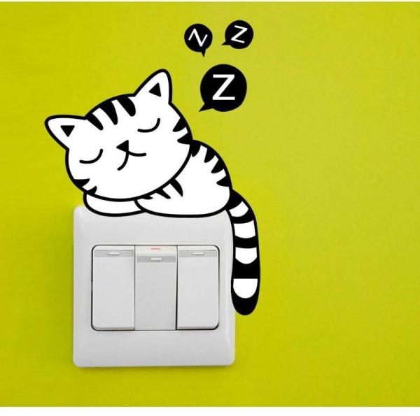 Sticker pentru intrerupator sau priza - Animale diverse 2