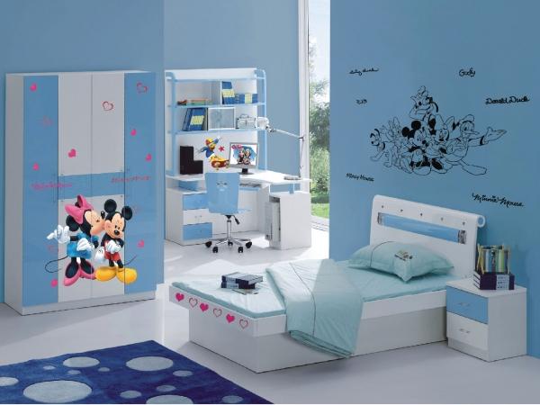 Sticker Mickey Mouse si Minnie - 65x85cm - DK882 1