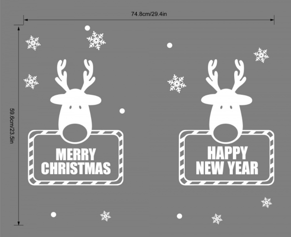 Sticker tematic - Happy New Year 2