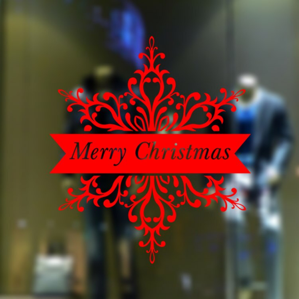 Sticker tematic - Merry Christmas 0