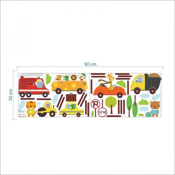 Stickere baieti - Autovehicule 5