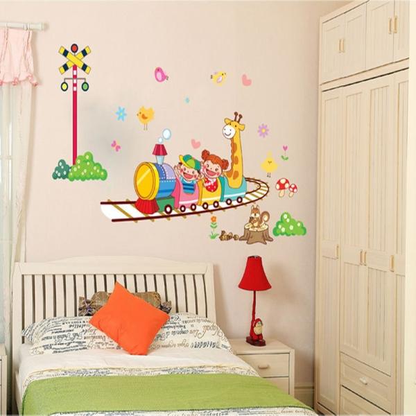 Stickere camere copii - Trenuletul vesel 3