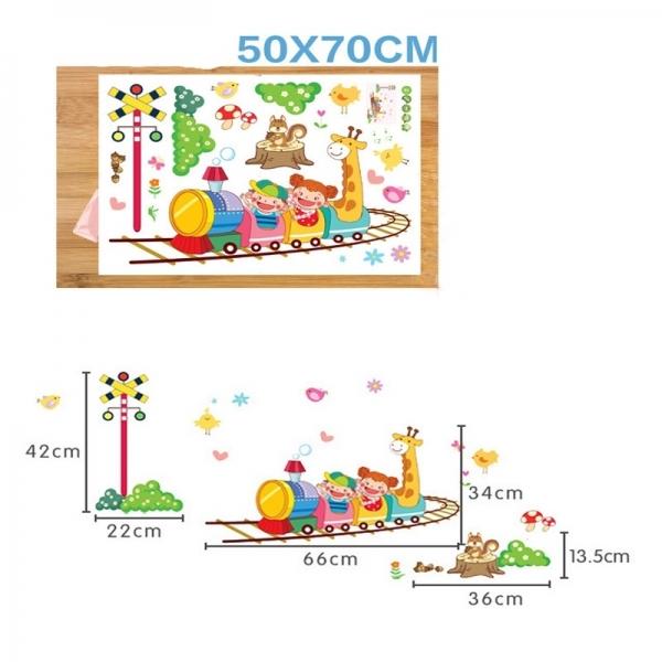 Stickere camere copii - Trenuletul vesel 4