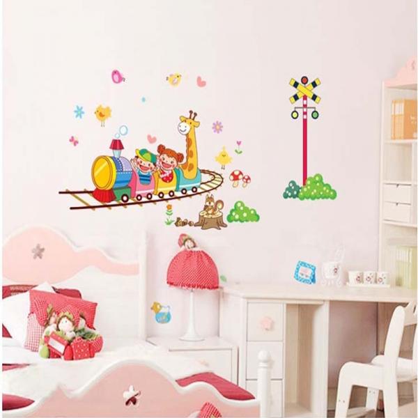 Stickere camere copii - Trenuletul vesel 1