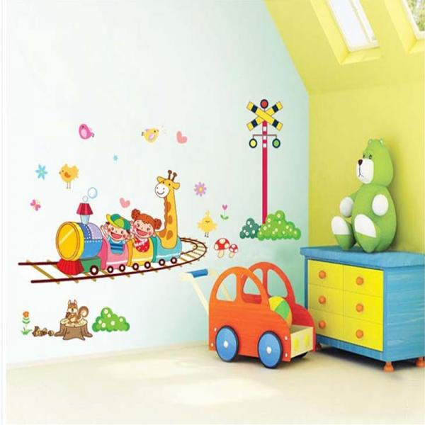 Stickere camere copii - Trenuletul vesel 2