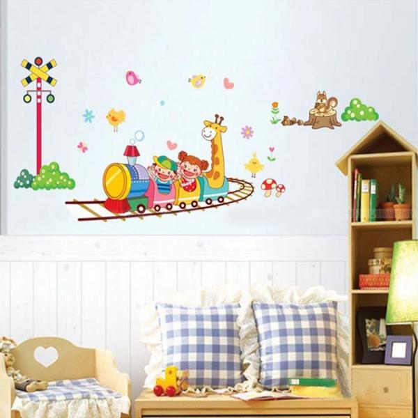 Stickere camere copii - Trenuletul vesel 0