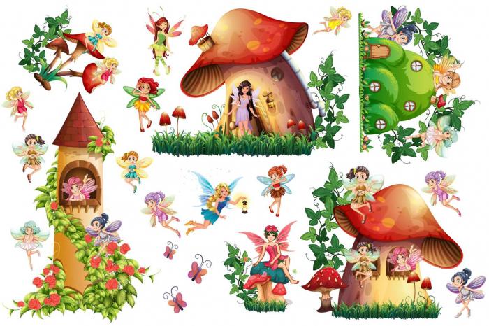 Sticker copii - Zane - 160x60 cm 0