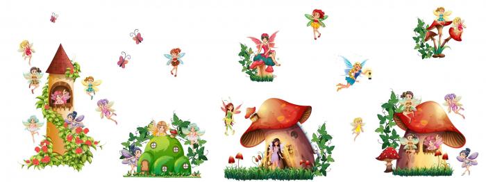 Sticker copii - Zane - 160x60 cm 1