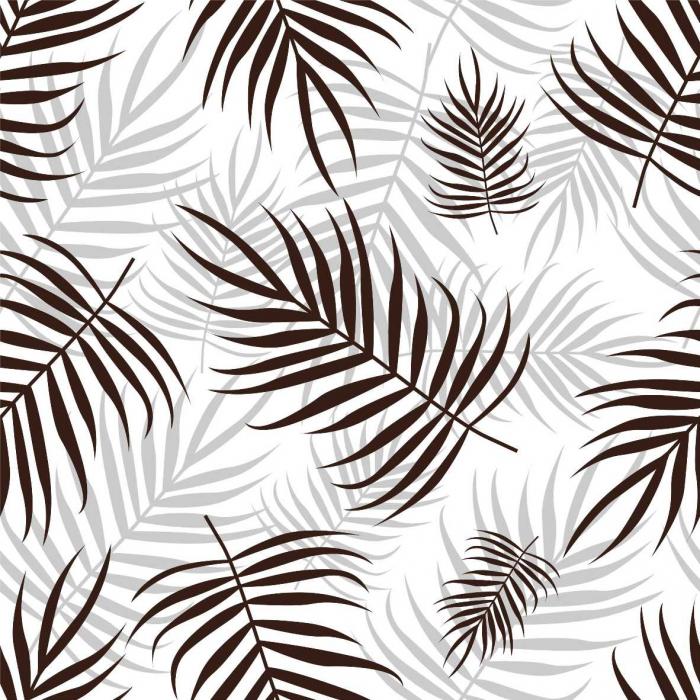 Stickere cu model repetitiv - Frunze de Palmier ( efect de tapet) [0]