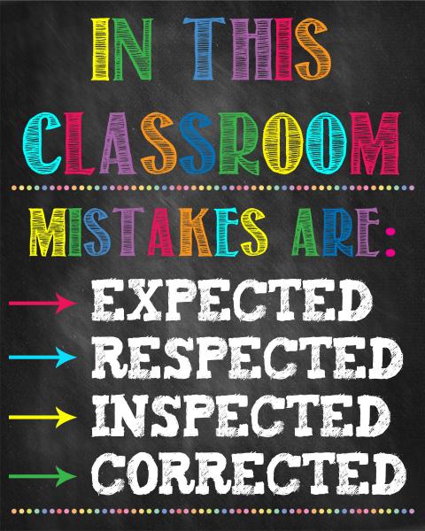 Stickere Decorative pentru Clasa - In this classroom 0