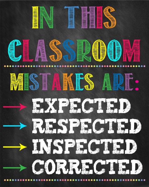 Stickere Decorative pentru Clasa - In this classroom - 77x100 cm 0