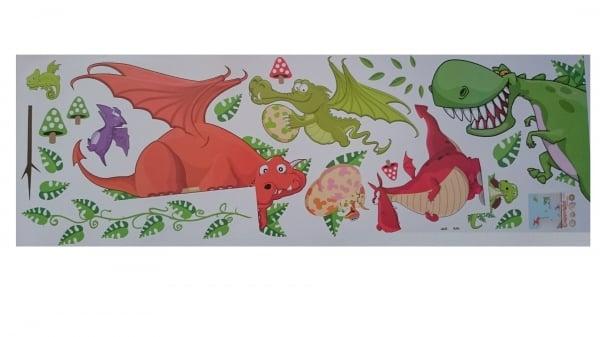 Stickere pentru copii  - Dragoni jucausi 5