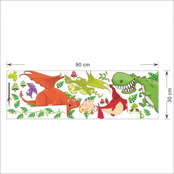 Stickere pentru copii  - Dragoni jucausi 2