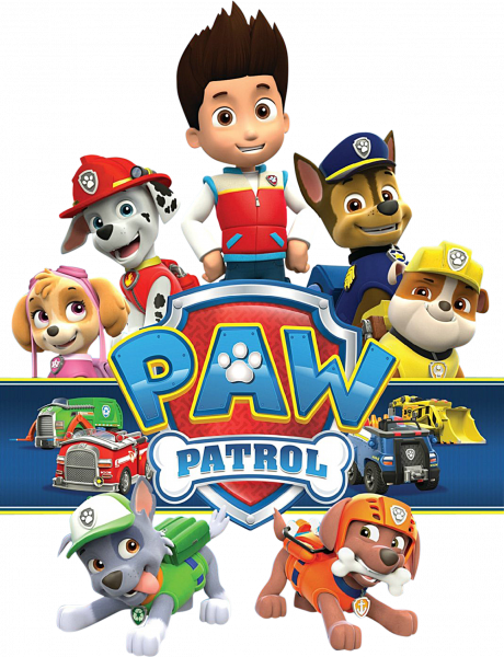 Stickere pentru copii - Paw Patrol 0