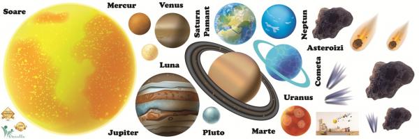Stickere pentru copii - Sistemul solar - Planete 0