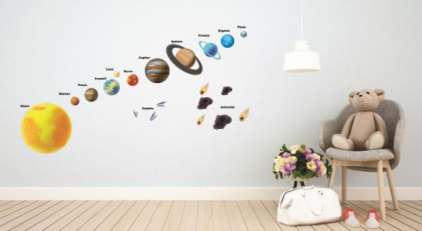 Stickere pentru copii - Sistemul solar - Planete 4