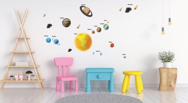 Stickere pentru copii - Sistemul solar - Planete 6