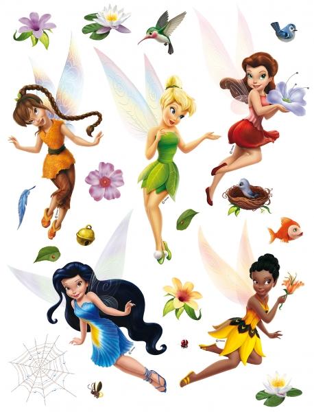 Sticker Zane Disney - Fairies - 65x85cm - DK867 0
