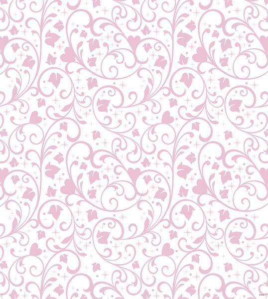 Tapet netesut roz - Walt Disney 0