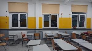 Folie autocolanta magnetica de tip whiteboard - culoare galben - 100x100 cm1