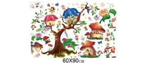Autocolant copii - Lumea zanelor - 140x65 cm5