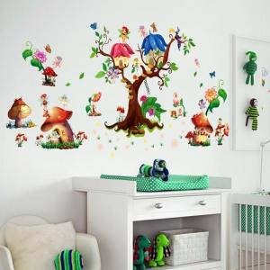 Autocolant copii - Lumea zanelor - 140x65 cm3