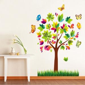 Autocolant de perete pentru copii - Copacelul fermecat3