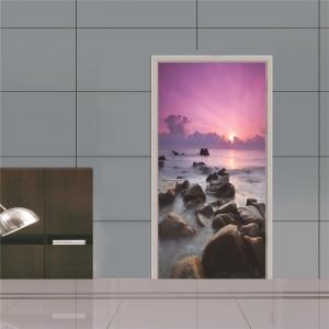 Autocolant usa - Apus violet - 2 folii de 38,5x200 cm1