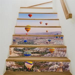 Autocolante scari - Baloane cu aer cald - 6 folii de 18x100 cm1