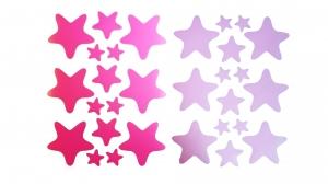 Decoratiuni camera bebe - Stelute  - Roz, Siclam1