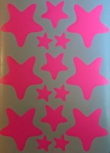 Decoratiuni camera bebe - Stelute  - Roz, Siclam2