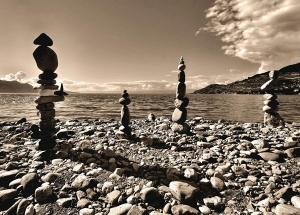 Fototapet Pietre pe Plaja FTM 04880