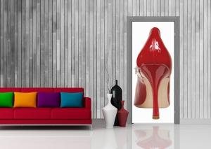 Fototapet Pantofi  Rosii1