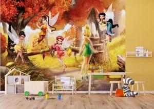 Fototapet Disney - Zane in Padurea Tomnatica2
