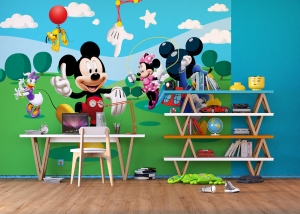 Fototapet Mickey Mouse si Prietenii2
