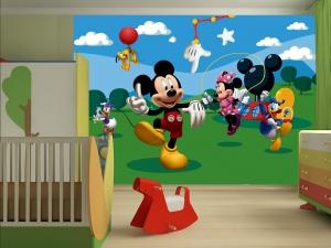 Fototapet Mickey Mouse si Prietenii1