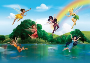 Fototapet Disney - Zane sub Curcubeu0