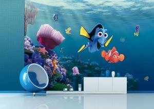 Fototapet Disney - Nemo si Dory in Recif1