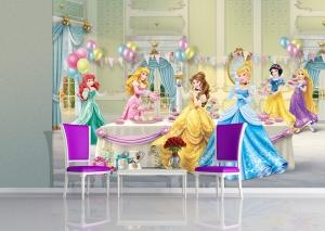 Fototapet Printese Disney la Bal1