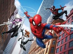 Fototapet Spiderman si Eroii0