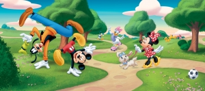 Fototapet Disney - Clubul lui Mickey Mouse in Parc [0]