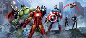 Fototapet Avengers0