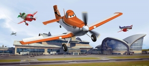 Fototapet Disney - Avioane [0]
